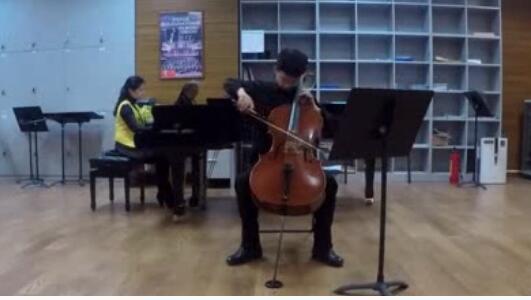 埃尔加e小调大提琴协奏曲Op.85第四乐章,演奏:罗燏   钢琴:李嘉琪