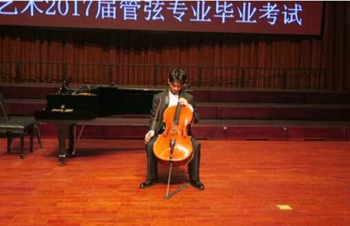 巴赫大提琴无伴奏组曲 No.6前奏曲  演奏:罗燏  2017年6月